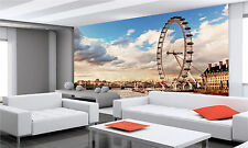 The London Eye  Wall Mural Photo Wallpaper GIANT DECOR Paper Poster Free Paste