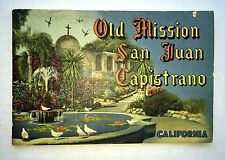 1949 Old Mission San Juan Capistrano California Souvenir Picture Book