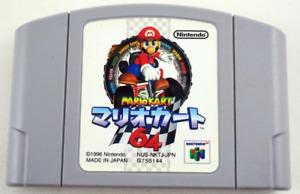 Mario Kart 64 Nintendo N64 Japan Import - US Seller Tested!
