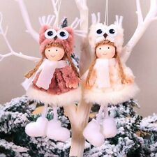 Christmas Angel Dolls Xmas Tree Ornament Hanging Decoration New Year Gift 2020