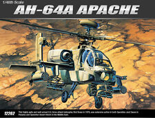 Academy Helicopter 1/48 Decal Scale Plastic Model Kit Air AH-64A Apache #12262