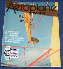 AEROPLANE MONTHLY OCTOBER 1979 - AIRSPEED HORSA/JAMES STEWART