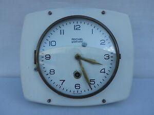 alte Wanduhr Küchenuhr Uhr Glashütte Reichel Funktion nicht geprüft
