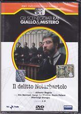 Dvd Serie del drama Rai «el crimen NOTARBARTOLO» con Ivo Garrani completa 1979