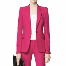 Hot Pink Women Pant Suits Ladies Business Suits Formal Office Suits Work Custom