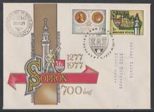 Ungarn 1977  FDC  Mi Nr: 3206  700 Jahre Stadt Sopron