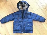 BURBERRY Winter Kids Down Jacket size 6 Years Unisex RRP £399 HARRODS