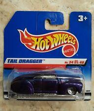 Hot Wheels Tail Dragger 1998 First Editions #24/40 International short card,!!!