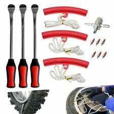 1 Set Tire Spoon Lever Iron Tool Motorcycle Bike Tire Change Changer Kit With Case