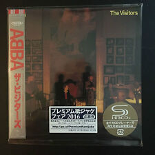 ABBA-The Visitors SHM MINI LP Style CD NEUF Japon 2016