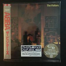 ABBA - The Visitors SHM Mini LP Style CD NEU Japan 2016