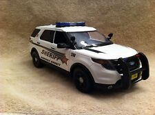 1/18 SCALE SEMINOLE CNTY FL SHERIFF SUV  DIECAST WITH WORKING LIGHTS AND SIREN