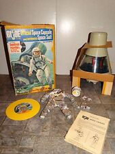 Hasbro VINTAGE 1966 Complete SPACE CAPSULE Playset w/BOX 3 ZIPPER SUIT!