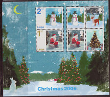 GREAT BRITAIN 2006 CHRISTMAS MINIATURE SHEET UNMOUNTED MINT