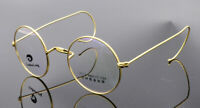 Rimmed Vintage Eyeglass Frames Spectacles Wire Round Retro Antique Rx Glasses
