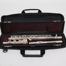 Yamaha Model YFL-382H Intermediate Flute w Silver Head / Inline G / B Foot MINT