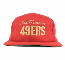 Vtg San Francisco 49ers Ronald McDonald Charities Red Baseball Cap Hat Adult LG