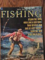1963  Fishing Magazine Annual Edition