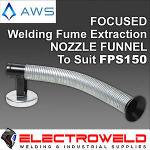 Focused Nozzle Funnel for AWS Welding Fume Extraction System Exhaust Ventilation