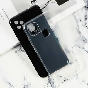 New Ultra Thin Soft Silicone Clear Black TPU Case Cover For Oukitel C22