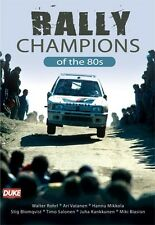 Rally Champions of the 80s (New DVD) Rohrl Vatanen Mikkola Salonen Biasion etc