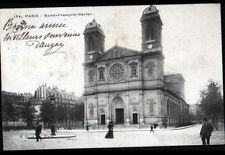 PARIS VII° / EGLISE SAINT-FRANCOIS-XAVIER animée avant 1904
