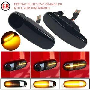 COPPIA FRECCE LATERALI 21 LED DINAMICHE SPECIFICHE FIAT ABARTH GRANDE PUNTO EVO