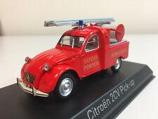 Norev Citroën 2cv Pick-Up de Bomberos 1963 1/43 156076