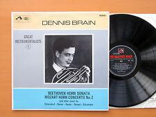HQM 1033 Dennis Brain Beethoven Horn Sonata Mozart Dukas etc HMV Mono NM/EX