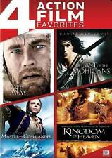 Cast Away/Last of the Mohicans/Master Commander/Kingdom of Heaven(DVD)Brand New