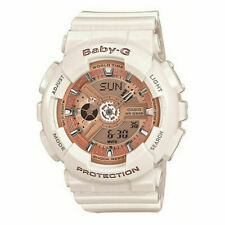 Casio G-shock Baby-G Ba110-7a1cr Rose Gold Analog Digital Watch
