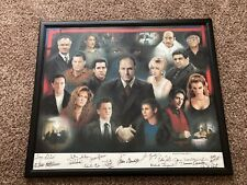2001 The Sopranos Print Art #97 of 500 Signed by Cast