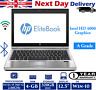 "HP EliteBook 2570p 12.5"" Laptop Intel i5 3rd-Gen 2.6Ghz 4GB RAM 320GB HDD Win-10"