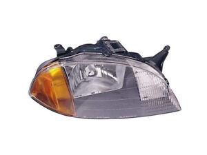 Chevy Metro Suzuki Swift 98 99 00 01 Headlight Lamp Rh