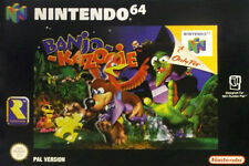 Nintendo 64 Banjo-Kazooie Video Games