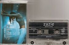 K7 AUDIO / TAPE--ZAZIE--MADE IN LOVE--1998