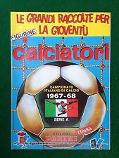 Album CALCIATORI 1967-1968 67-68 , Ristampa L' Unita' , Figurine Panini Serie A