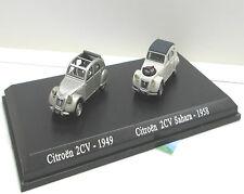 Citroen 2 CV- 1949 &  Citroen 2 CV  Sahara -1958