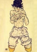Egon Schiele # 03 Poster cm 35x50 Affiche Plakat Cartel Stampa Grafica Digitale