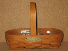 Longaberger 1994 Hostess Appreciation Basket & Protector mint condition not used