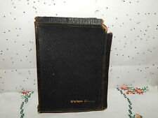 ANTIQUE VINTAGE HOLY BIBLE SILK SEWN OXFORD UNIVERSITY PRESS 1924 OR OLDER