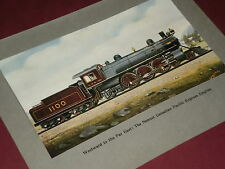 CANADIAN PACIFIC EXPRESS ENGINE  - Antique Print 1910