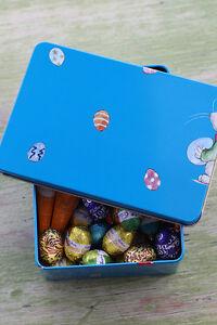 """Italian gift tin / storage container  """"Deliziosa Pasqua"""" (Delicious Easter sml)"""