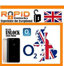 O2 TESCO GIFFGAFF UK IPHONE 4, 5, 6 & 7 FACTORY UNLOCK - CLEAN IMEI FAST SERVICE