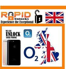 O2 Tesco Giffgaff UK IPHONE 4, 5, 6 & 7-FABBRICA SBLOCCARE Pulito imei servizio veloce
