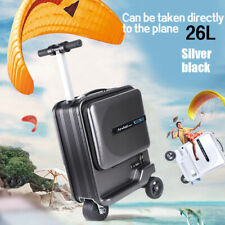 Mini Rideable Travel Luggage Scooter Travel Suitcase Carts 26L Aviation Version