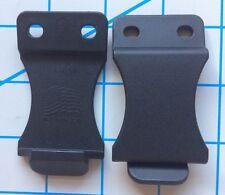 "(2) FOMI 1.5"" Nylon Belt Clips DIY Knife Sheaths IWB Kydex Holsters Made In USA"