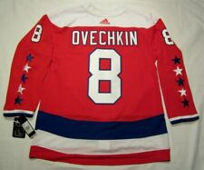 Alexander OVECHKIN sz 50 Medium Washington Capitals ADIDAS alt jersey PRO CUSTOM