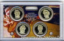 2010 4 Coin Presidential Proof Set No Box/COA