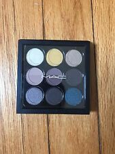 "MAC Eyeshadow Palette x9 "" She's a Model "" (Golds, Brown, Blue) - New in Box"